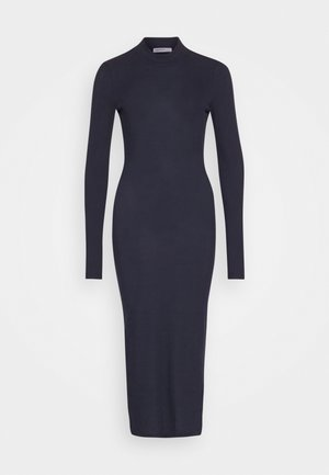 OPEN BACK BODYCON DRESS - Jumper dress - navy