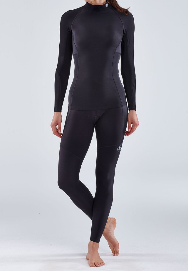 THERMAL - Sportshirt - black
