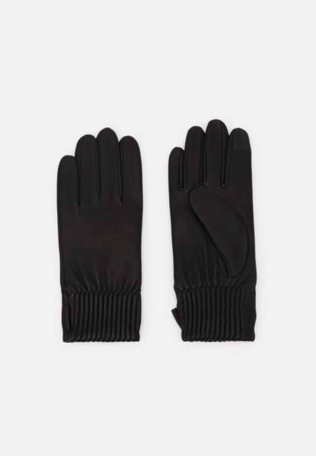 GAUTIN - Sormikkaat - black