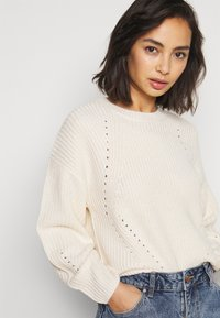 New Look Petite - FASHIONED JUMPER - Jumper - off-white - 3