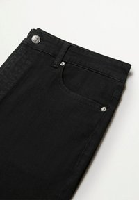 Violeta by Mango - Relaxed fit jeans - black denim - 5