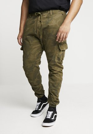 PANTS - Cargo trousers - olive