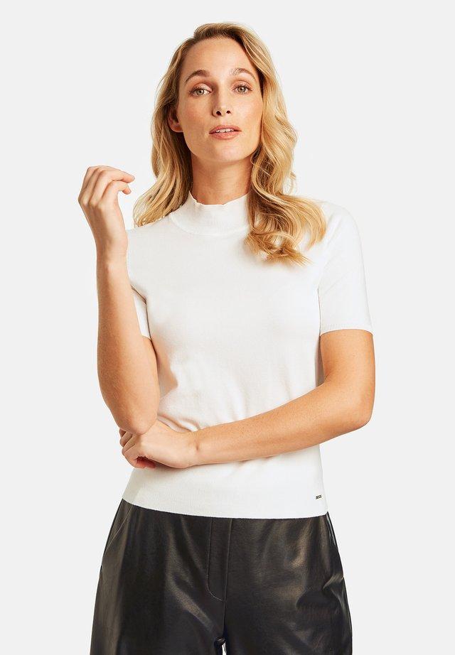 MIT TURTLENECK - Print T-shirt - offwhite