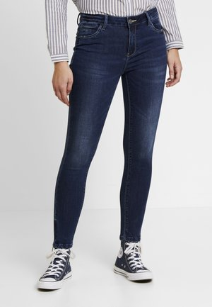 NMKIMMY  ANKLE ZIP - Jeans Skinny Fit - dark blue denim
