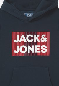 Jack & Jones Junior - JJECORP LOGO HOOD - Hættetrøjer - navy blazer - 2