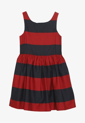 FIT DRESSES - Day dress - red/navy
