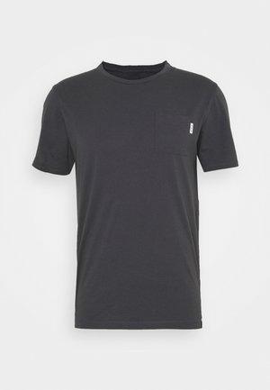 POCKET TEE - T-shirt - bas - anthra