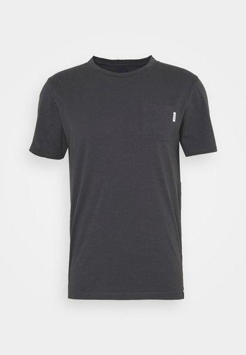 POCKET TEE - Basic T-shirt - anthra