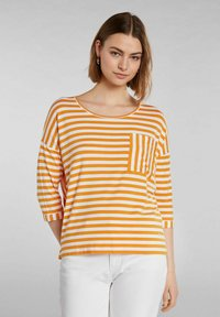 Oui - Long sleeved top - white yellow/or - 0