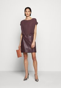 Patrizia Pepe - DRESS  - Day dress - violet swan - 1