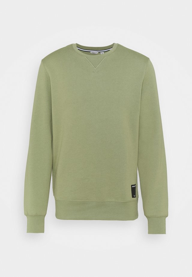 CENTRE CREW - Sweater - oil green