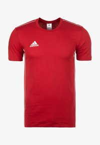 adidas Performance - CORE 18 ELEVEN - Print T-shirt - red - 0
