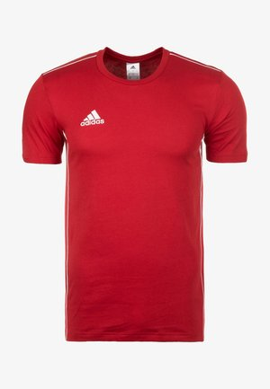 CORE 18 ELEVEN - T-shirt z nadrukiem - red