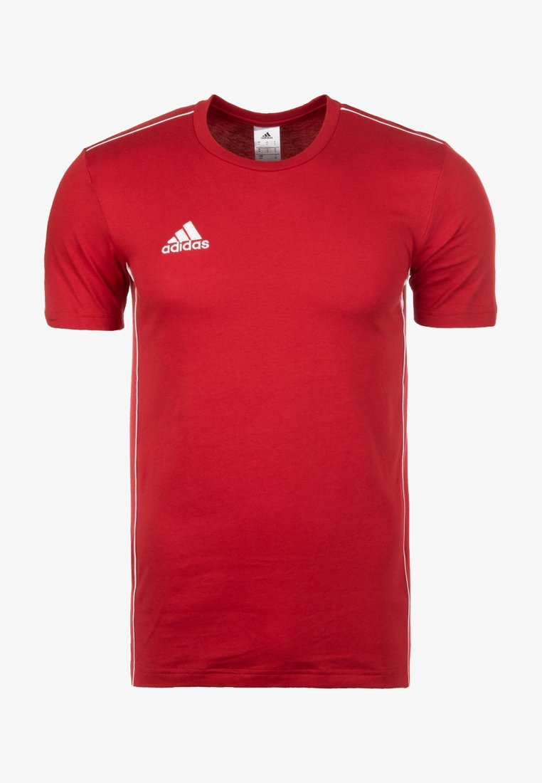 adidas Performance - CORE 18 ELEVEN - Print T-shirt - red