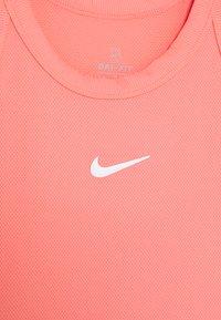 Nike Performance - DRY TANK - Funkční triko - sunblush/white - 2
