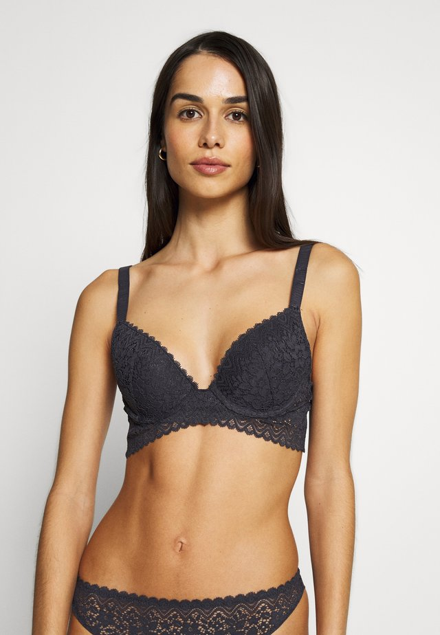 YESTERDAY N°2 CLASSIQUE - Push-up bra - anthracite