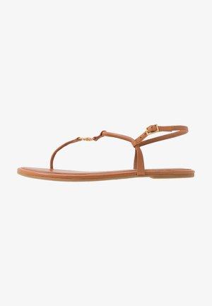 EMMY  - T-bar sandals - ambra