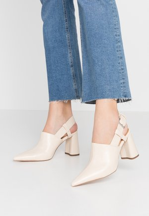 FARGO SHOE - High heels - cream