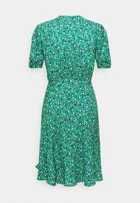 Ghost - SABRINA DRESS - Abito a camicia - green/pink - 1