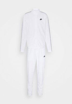 SUIT BASIC - Tracksuit - white/black