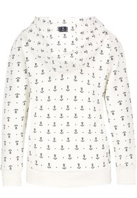 Sublevel - Zip-up sweatshirt - white - 1