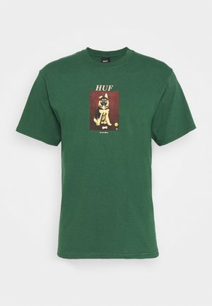 GOOD BOY TEE - Print T-shirt - forest green