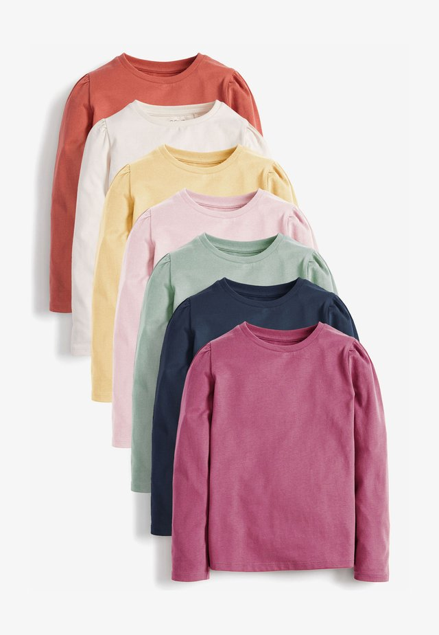 7 PACK  - Long sleeved top - multi-coloured