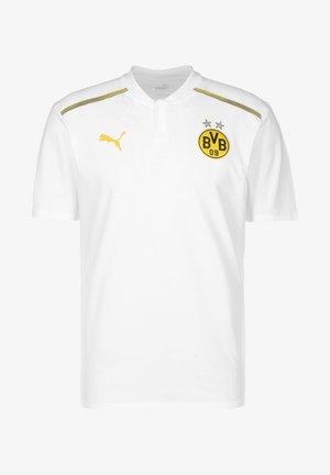 Sports shirt - puma white / cyber yellow