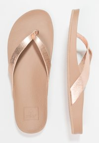 Reef - CUSHION BOUNCE COURT - T-bar sandals - rose gold - 1