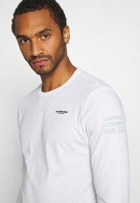 G-Star - BASE R T L\S - Long sleeved top - white - 4