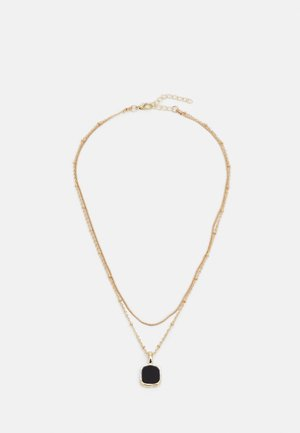 ONLALICE NECKLACE - Halskæder - gold-coloured/black