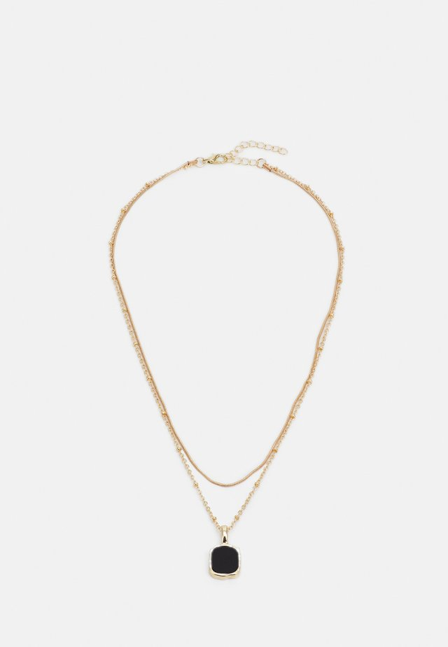 ONLALICE NECKLACE - Ketting - gold-coloured/black