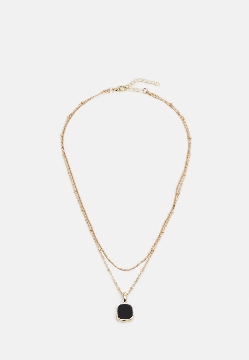 ONLY - ONLALICE NECKLACE - Necklace - gold-coloured/black