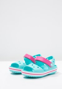 Crocs - CROCBANDKIDS - Pool slides - pool/candy pink - 2