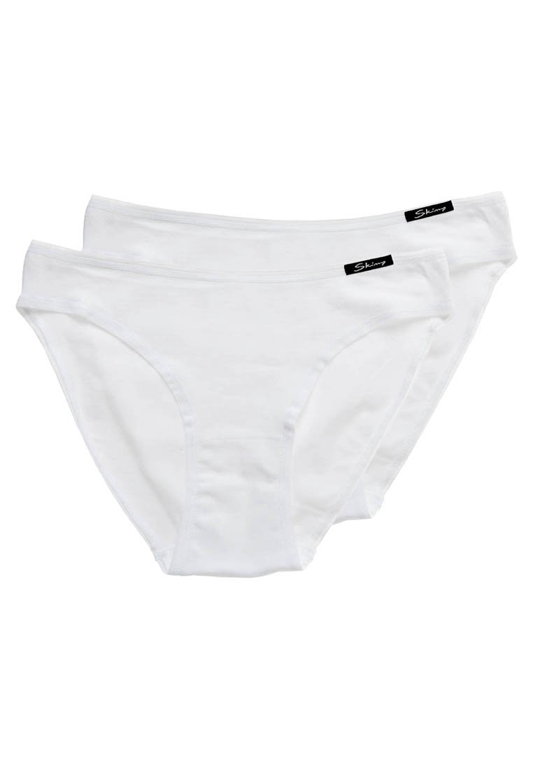 Skiny - DAMEN RIO SLIP 2ER PACK - Briefs - white