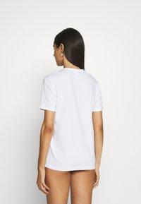 Calvin Klein Underwear - ONE CREW NECK - Pyjama top - white/black - 2