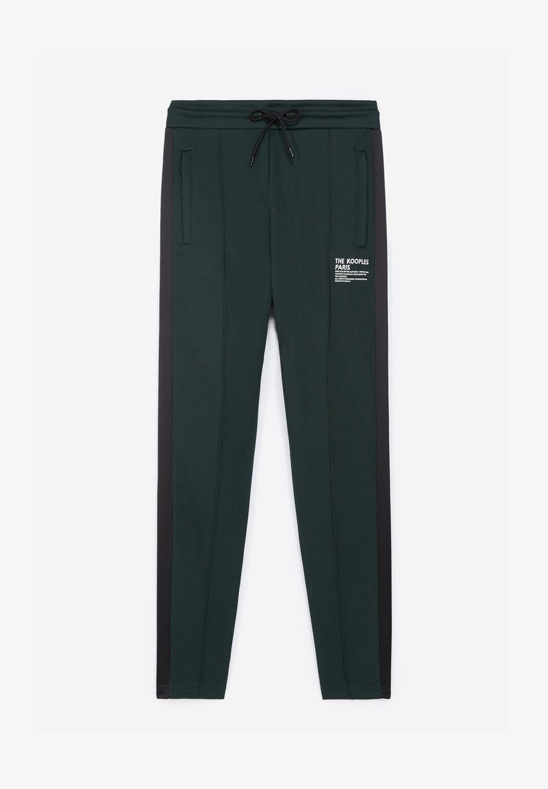 The Kooples - Tracksuit bottoms - bottle green