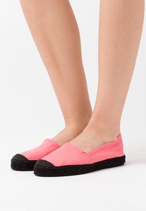 Espadrilky - pink