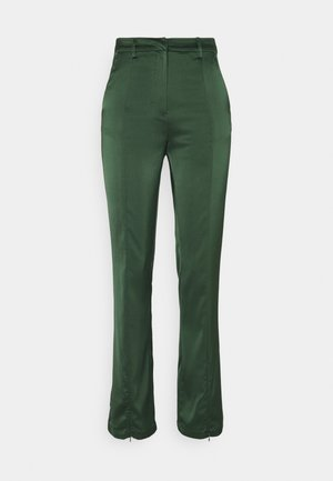 LADIES TROUSERS  - Trousers - forest green