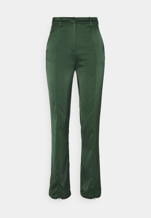LADIES TROUSERS  - Broek - forest green