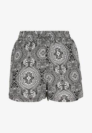 VISCOSE RESORT SHORTS - Shorts - black
