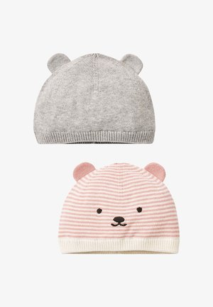 2 PACK CHARACTER EARS  - Beanie - pink, grey