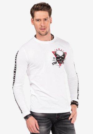 MIT COOLEM PRINT - Langarmshirt - white