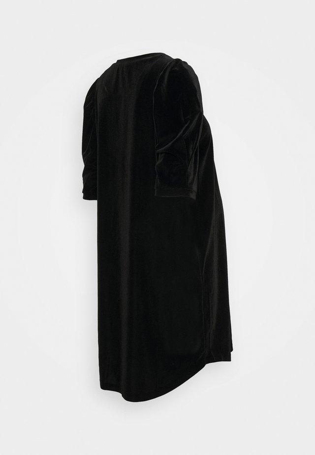 SBUFFO VELLUTO - Jerseykjoler - black