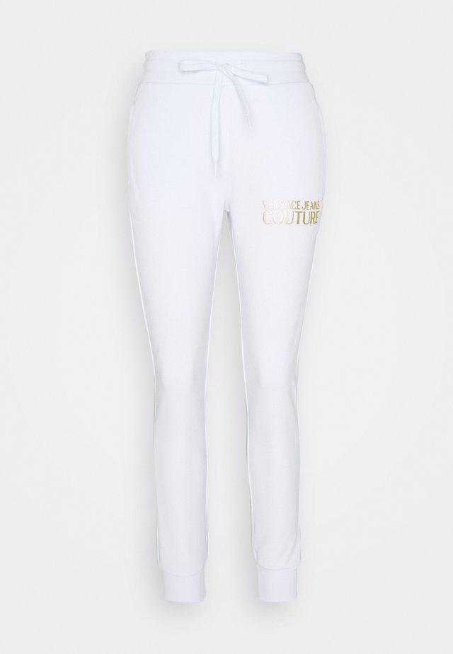 Trainingsbroek - optical white/gold