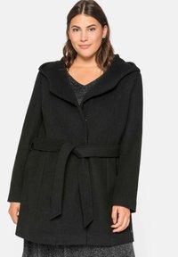 Sheego - Short coat - schwarz - 0