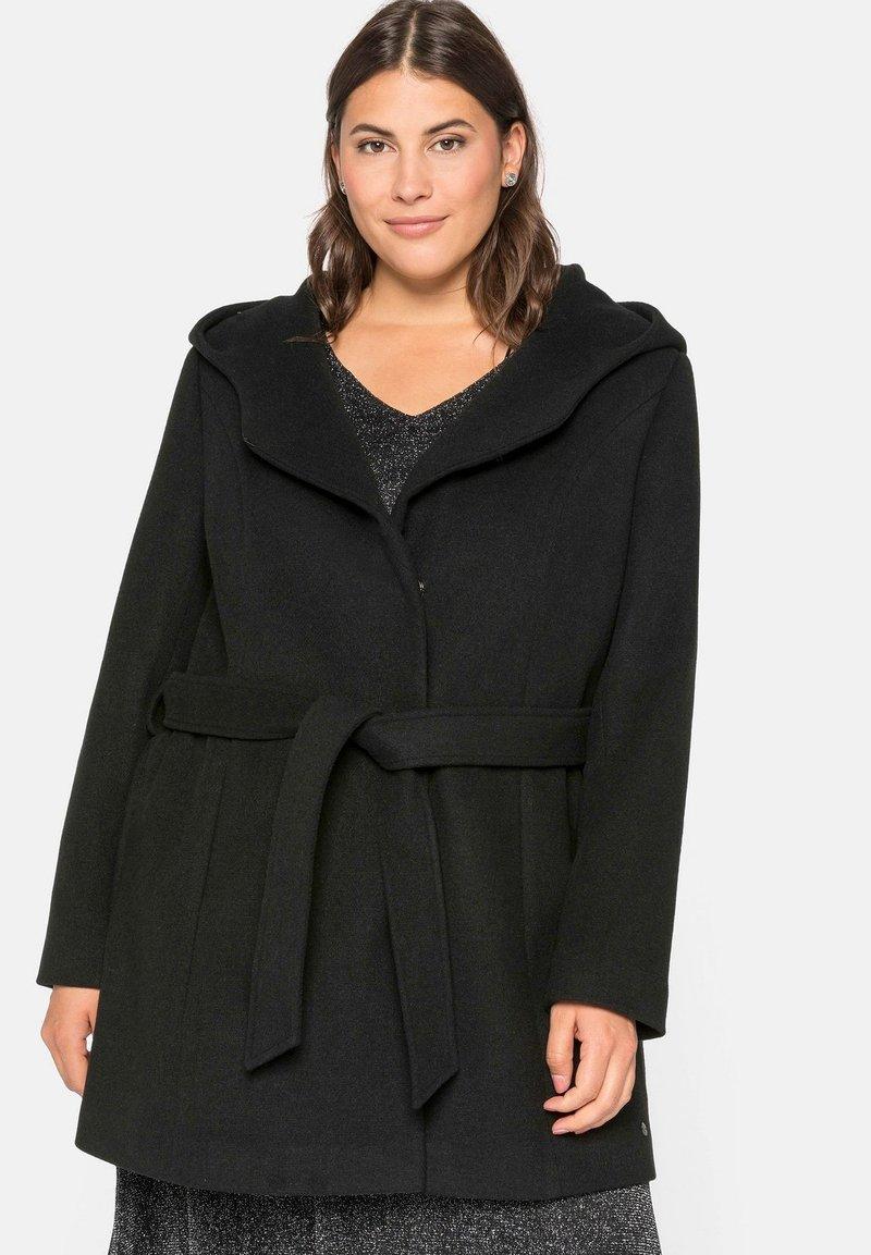 Sheego - Short coat - schwarz