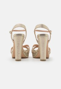 Menbur - High heeled sandals - gold - 3