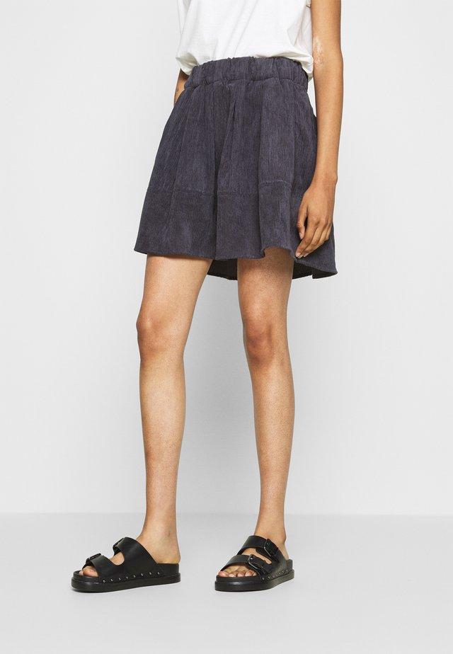 KIA  - A-line skirt - dark iris