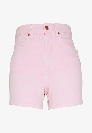 MOM - Denim shorts - orchid pink